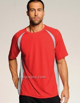 Alo Short Sleeve Colorblocked Crew (S-2xl)