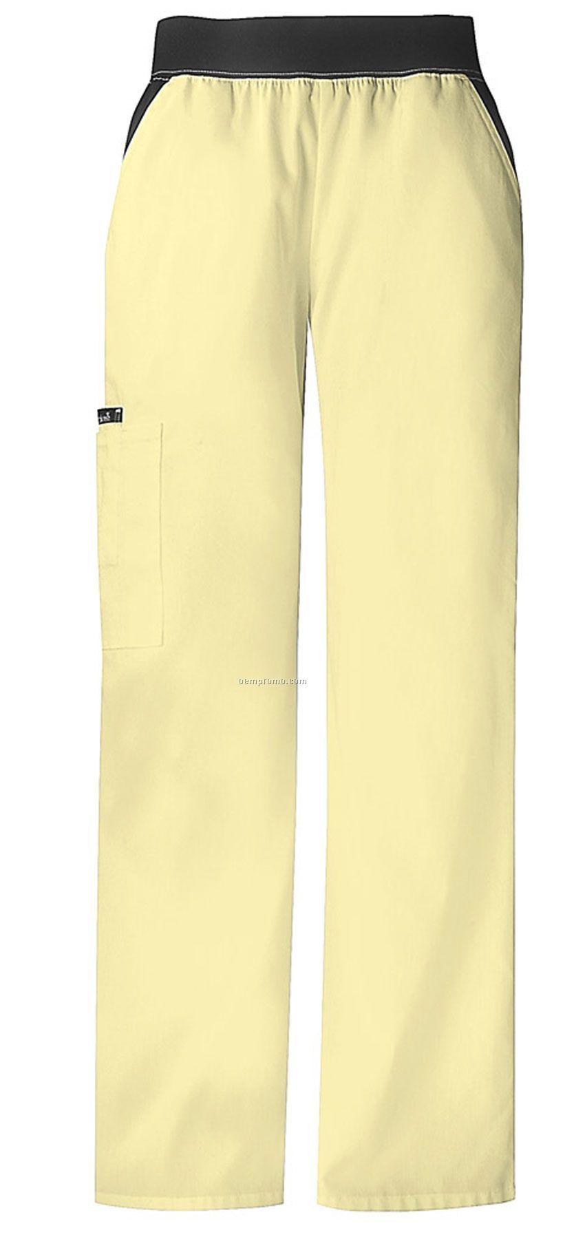 Cherokee Cargo Pocket Scrub Pant