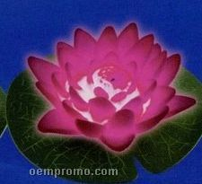 Pink Floating Light Up Water Lily