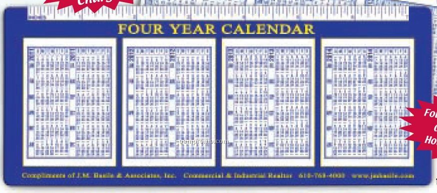 3 Or 4 Year Version Calendars China Wholesale 3 Or 4 Year