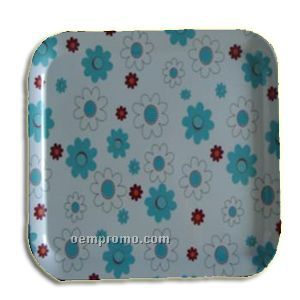 Melamine Plate - Flower Pattern