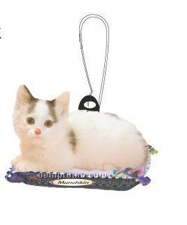 Munchkin Cat Zipper Pull