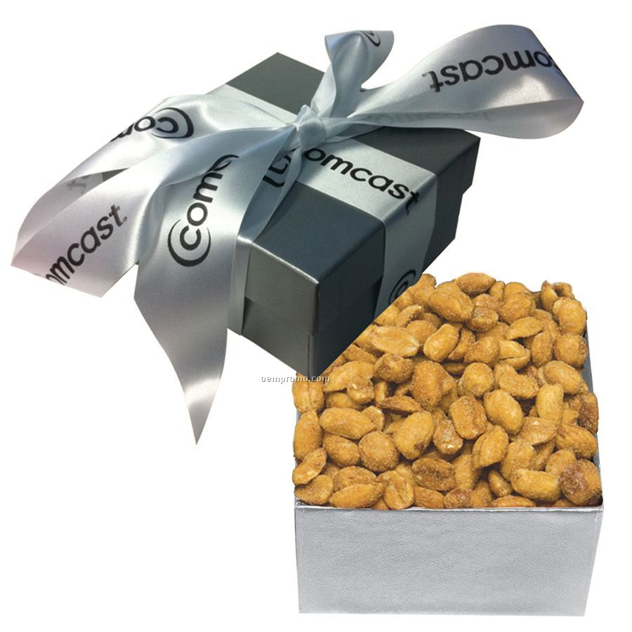 The Classic Silver Honey Peanut Box