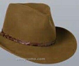Wool Felt Crushable Western Hat