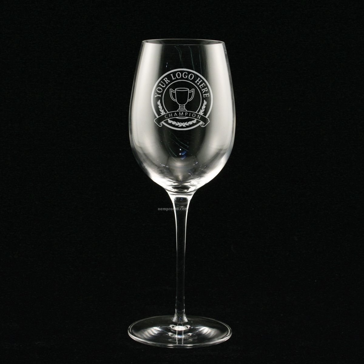 13 Oz. Estate Chardonnay Glass (Set Of 4 - Deep Etch)