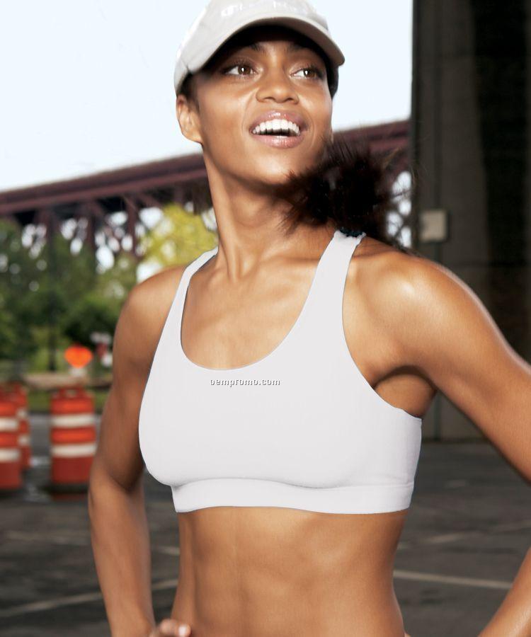 Champion Ladies Cotton Blend Sports Bra (S-xl)