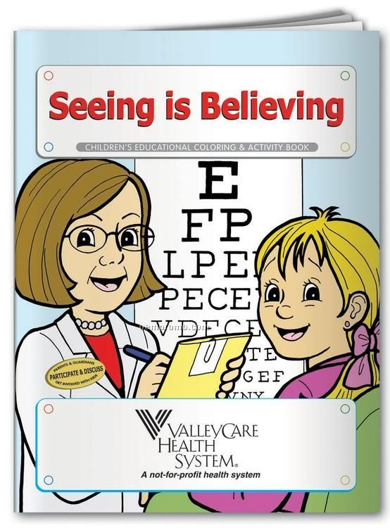 Coloring Book - Seeing Is Believing
