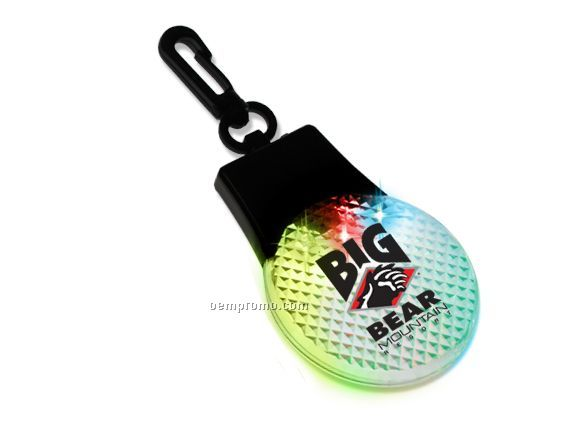 Go Strobe W Clear Lens And Red,Green,Blue LED W Clip Attachment