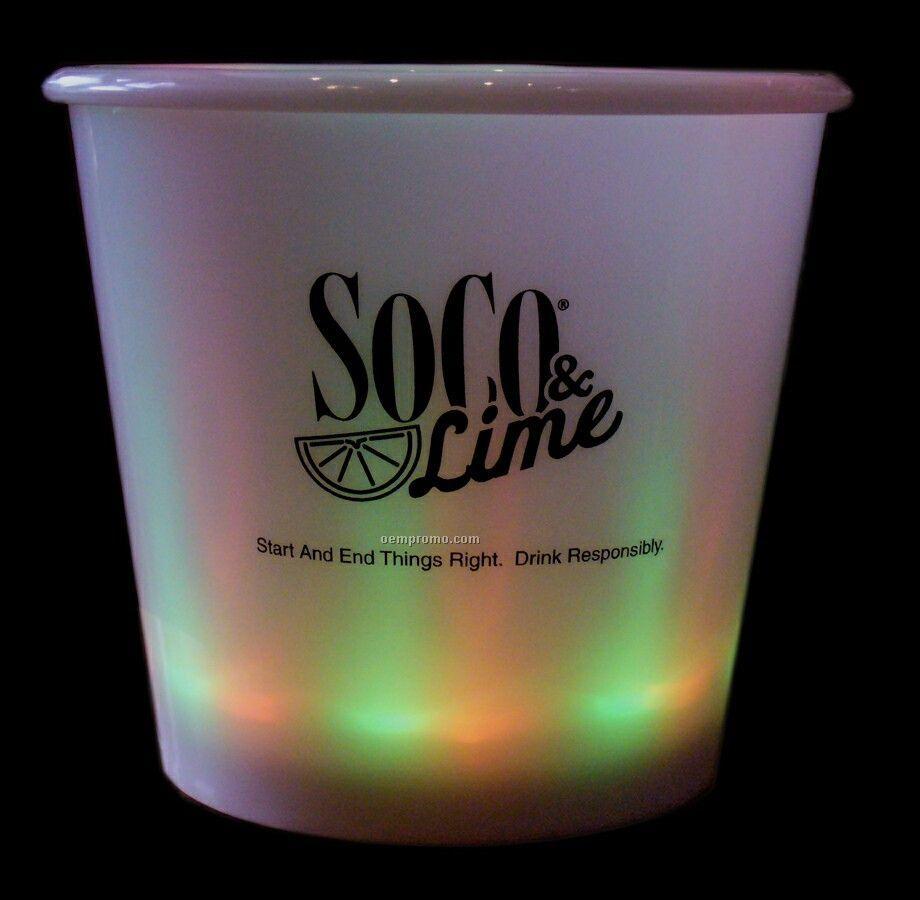 "Lighted Small Ice Bucket (6-1/2""X5-3/4"")"