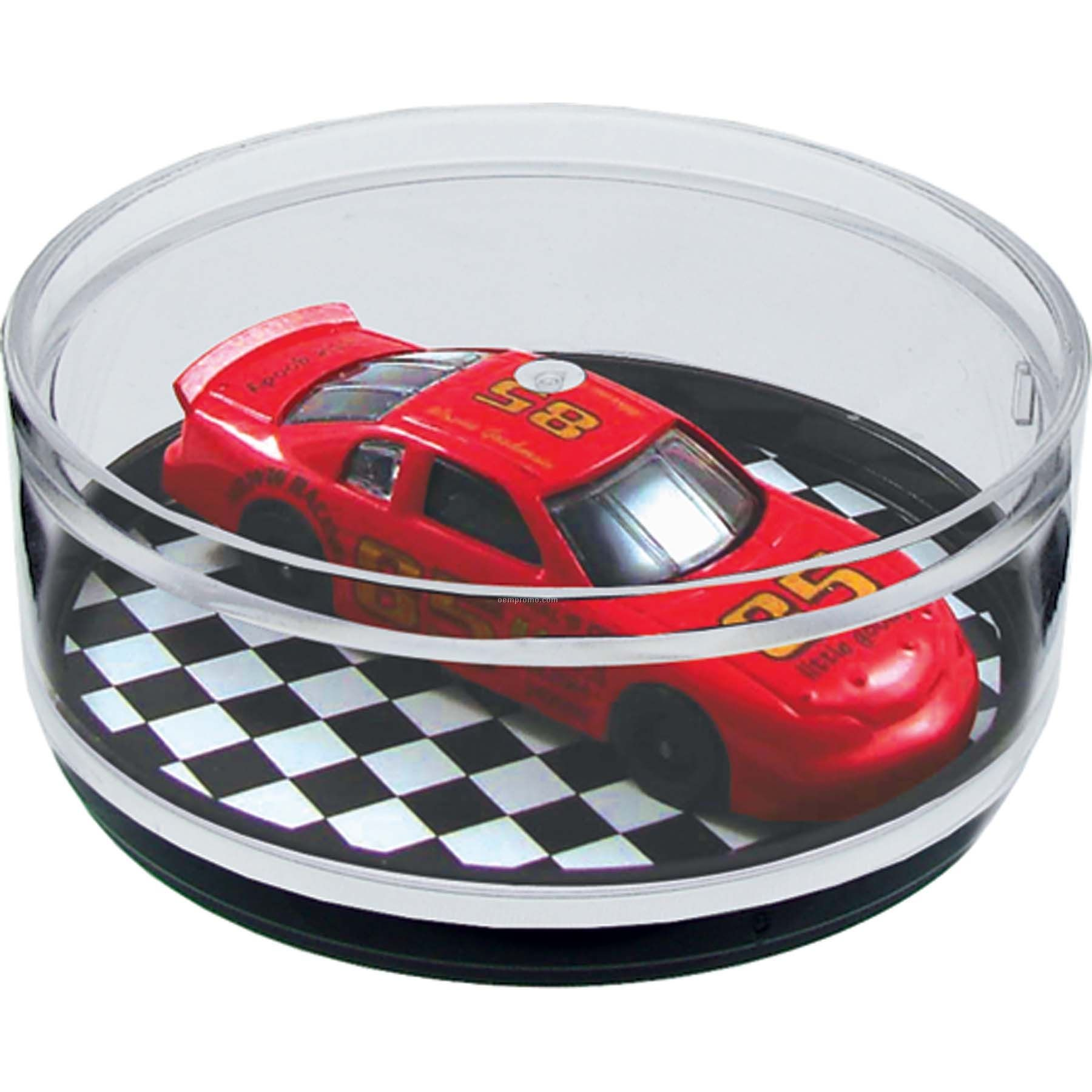 Pit Stop Compartment Coaster Caddy