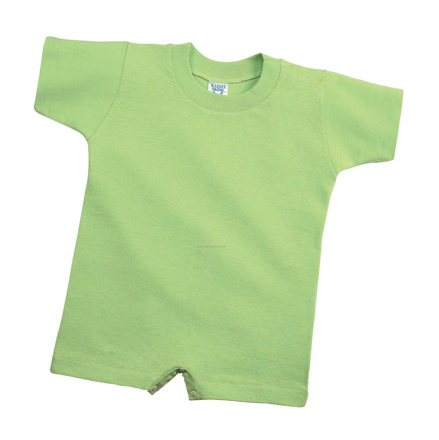 Rabbit Skins Infant T-romper - Colors