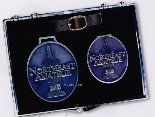 The Northeast Kit (Bag Tag & Money Clip)