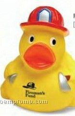 Fireman Rubber Duck