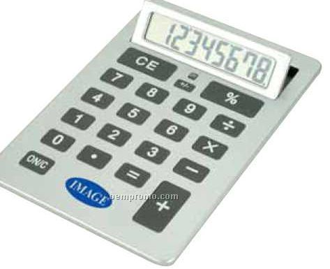 Giant Calculator With Flip-up Display