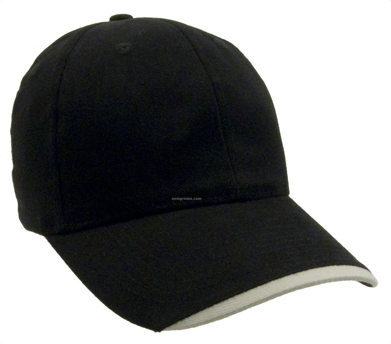 Wave Constructed Brushed Cotton Twill Cap Blank China