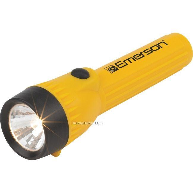 Yellow Plastic Flashlight
