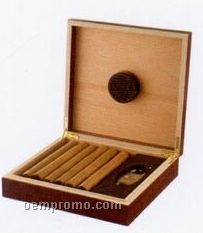 15 Cigar Gift Set Insert With Churchill Size