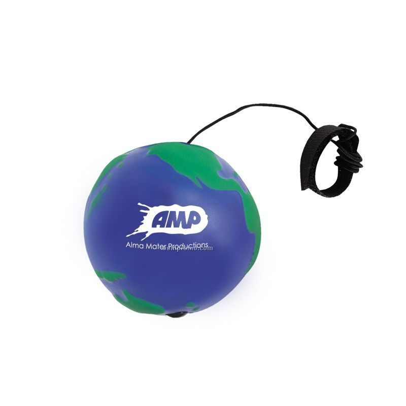 Globe Bounce Back Squeeze Toy