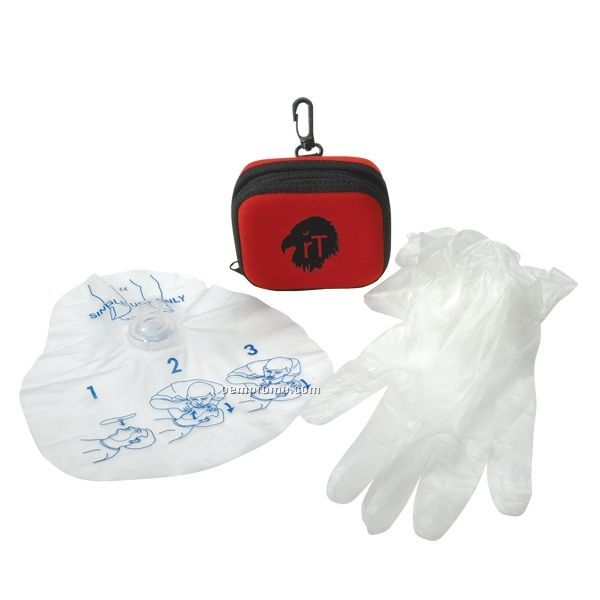 Premium Cpr Kit W/ Foam Case