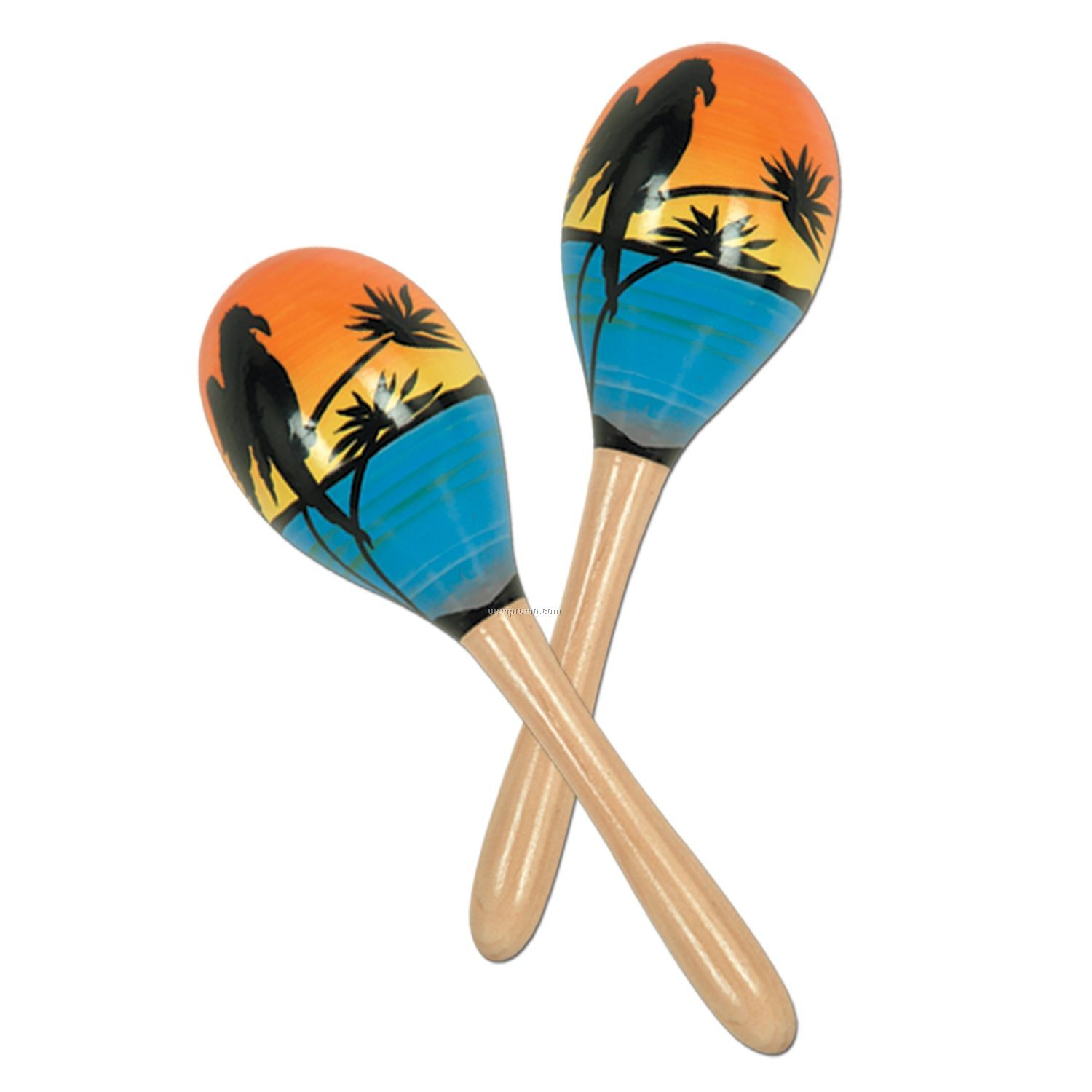 Tropical Fun Party Maraca's