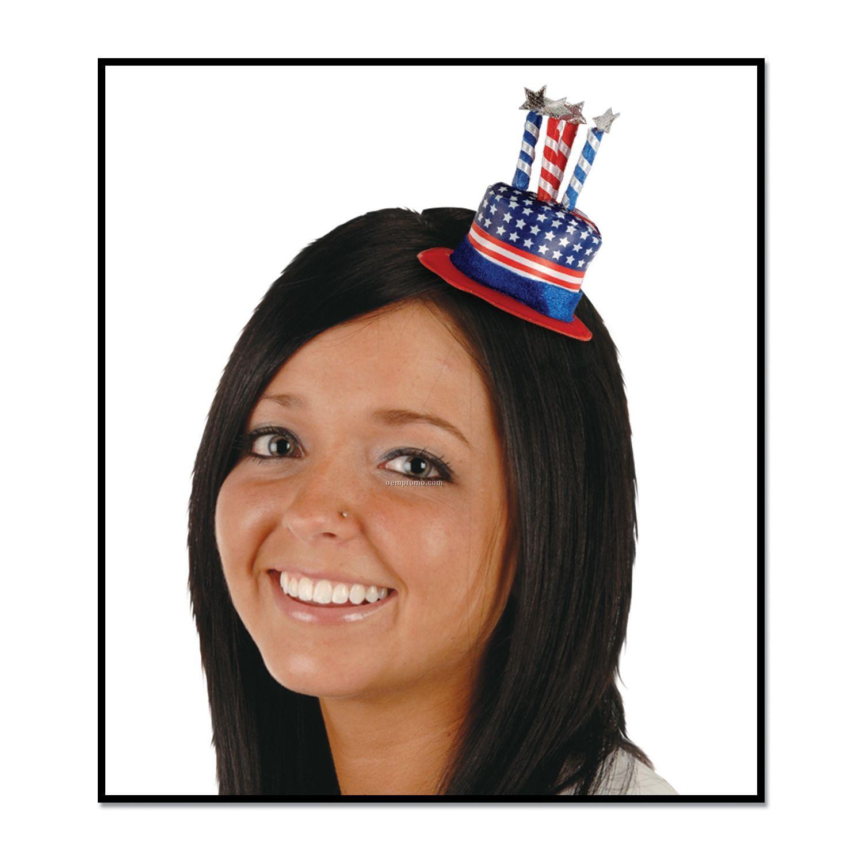 Uncle Sam Hat Hair Clip