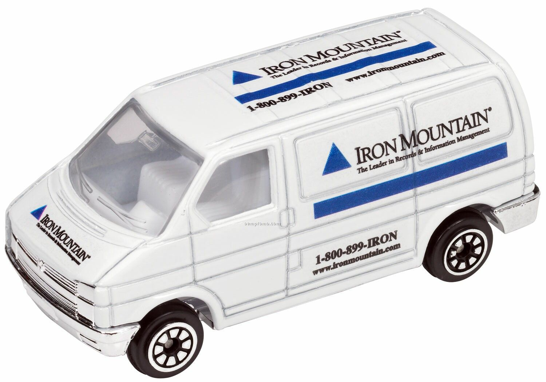 White Mini Van Die Cast Mini Vehicle