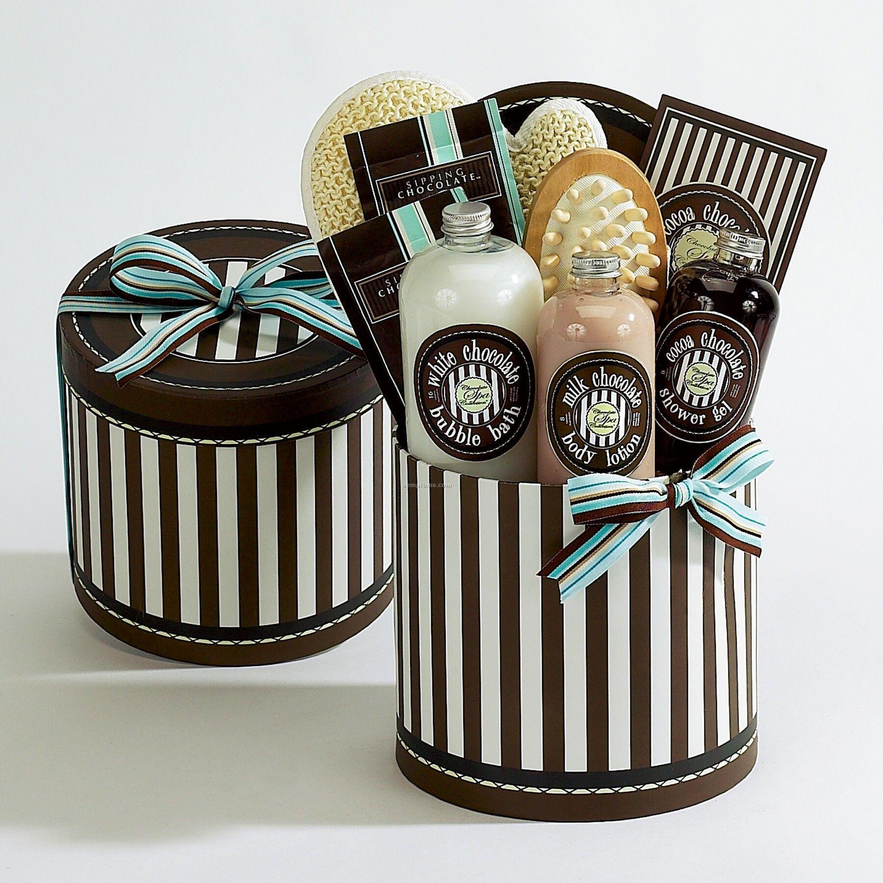 Chocolate Truffle Spa Indulgence Gift Box