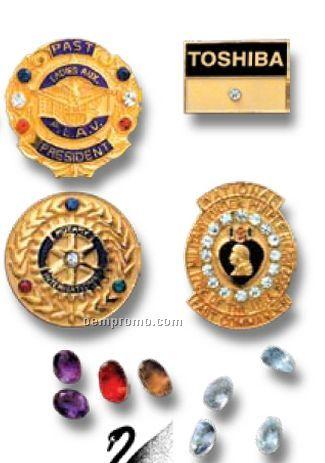 Swarovski Crystals/ Synthetic Gem Stones For Emblems