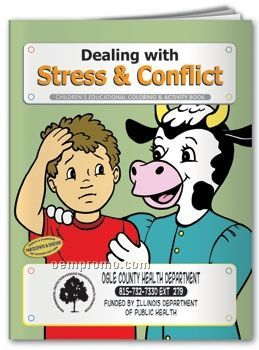 Fun Pack Coloring Book W/ Crayons - Dealing With Stress & Conflict