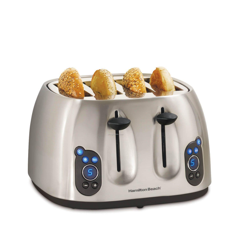 Hamilton Beach Digital 4 Slice Toaster
