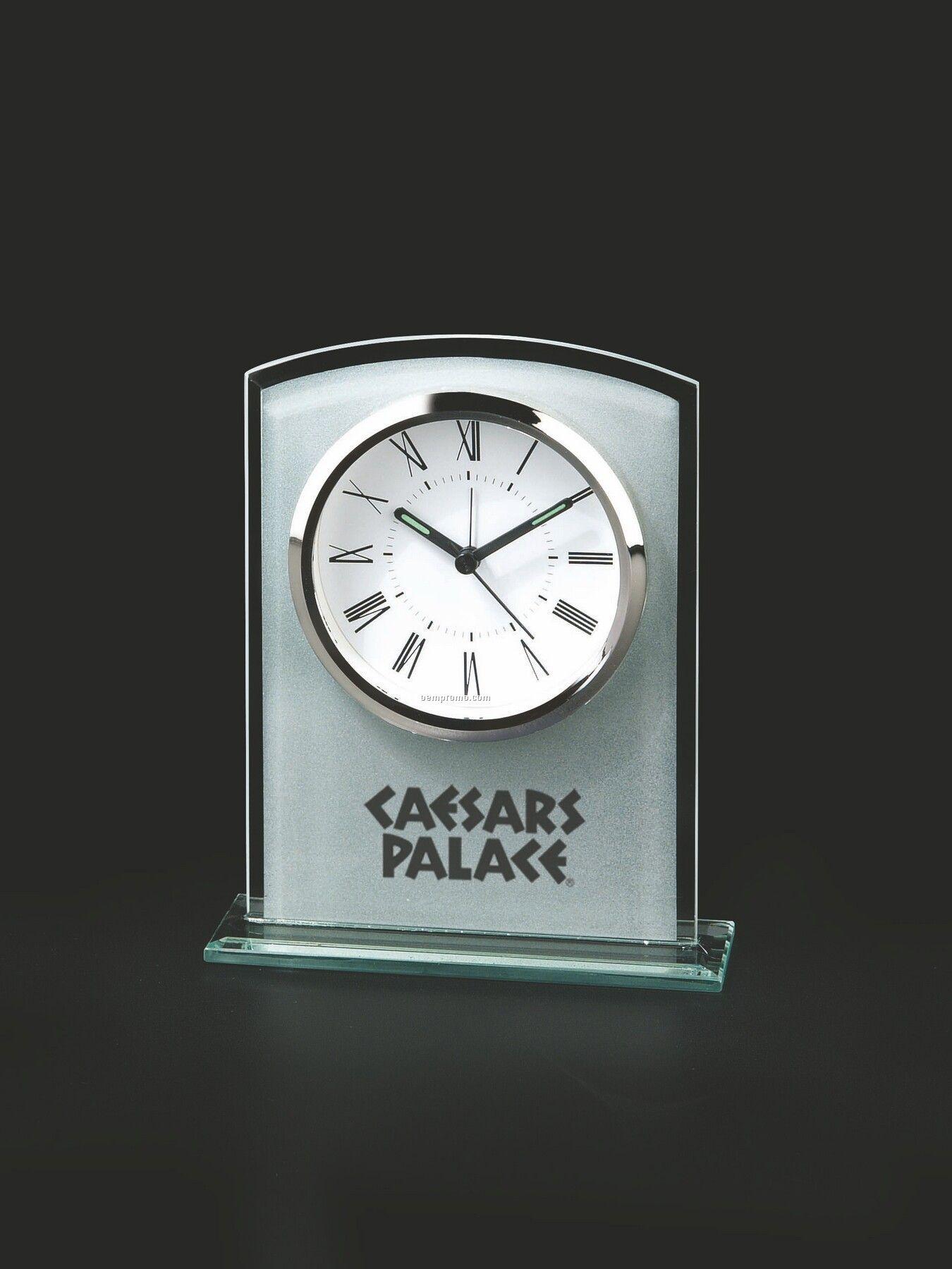 Rectangle Glass Alarm Clock