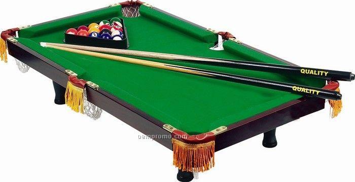 Elegant Tabletop Pool Table Full Size