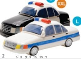 Police Car Specialty Cookie Keeper - Black & White Unit