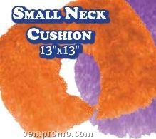 Freckles & Maya Girls Neck Cushion In Island Blue