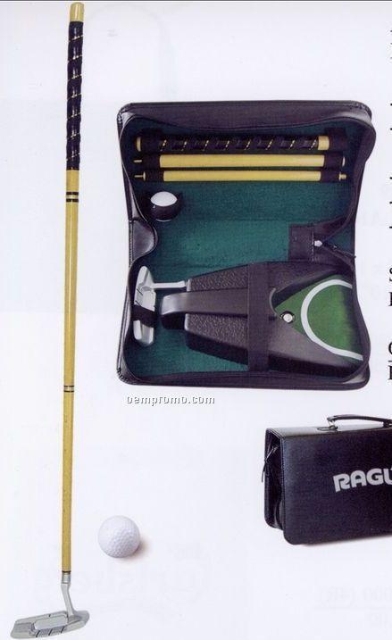 "Portable Putter & Automatic Golf Ball Return (7 1/2""X3 1/2""X13 1/4"")"