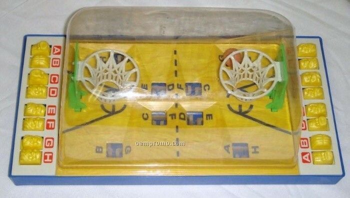 Push Button Basketball Game