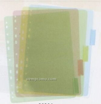 5 Pack Binder Index Tabs
