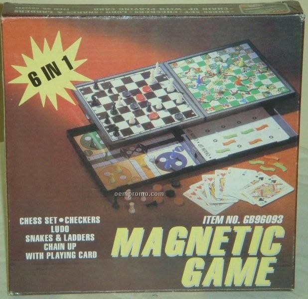 6 In 1 Travel Board Game