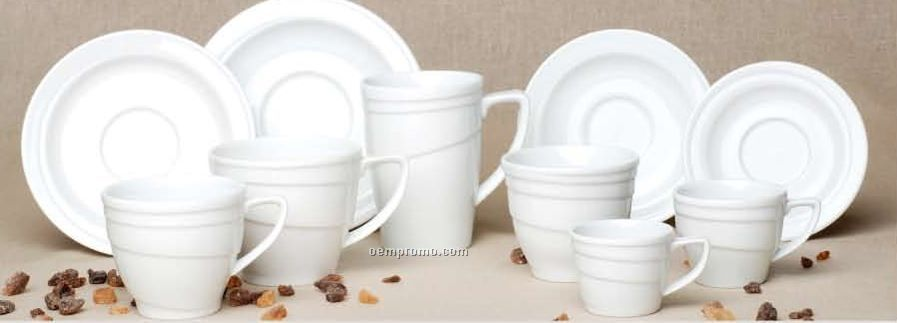 Elan Porcelain Coffee Cup & Saucer