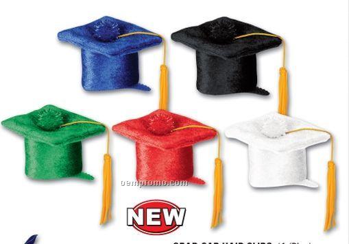 Grad Cap Hair Clips