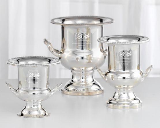 Medium Potomac Silver Plated Chiller Bucket