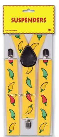 Chili Pepper Suspenders