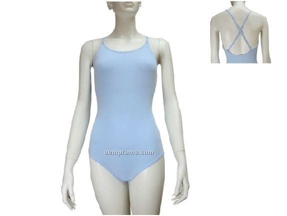 Leotard With Adjustable Strap Camisole