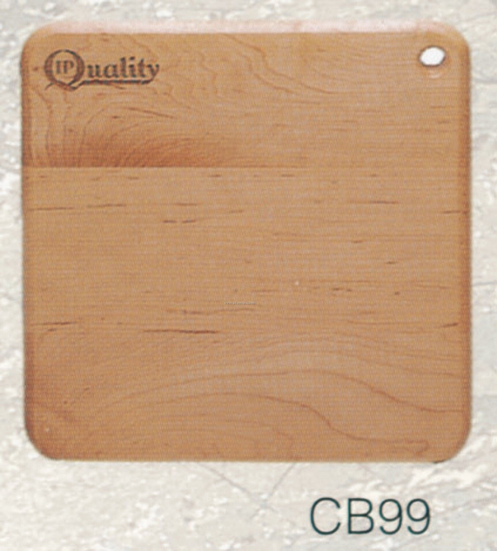 "Square Wooden Cutting Board (9""X9""X3/4"")"