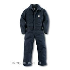Flame Resistant Mid Weight Canvas Coverall