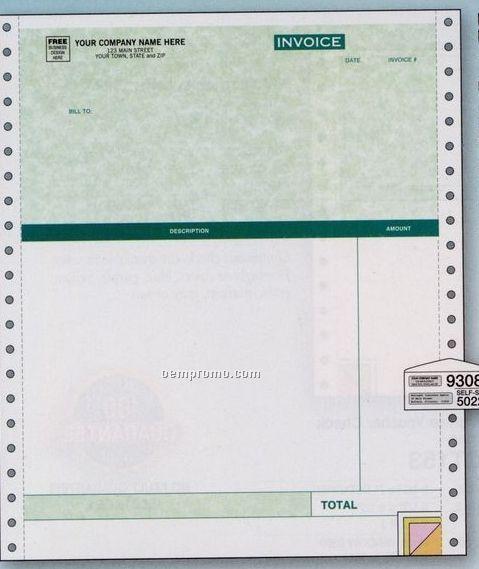 Parchment Professional Invoice (3 Part)