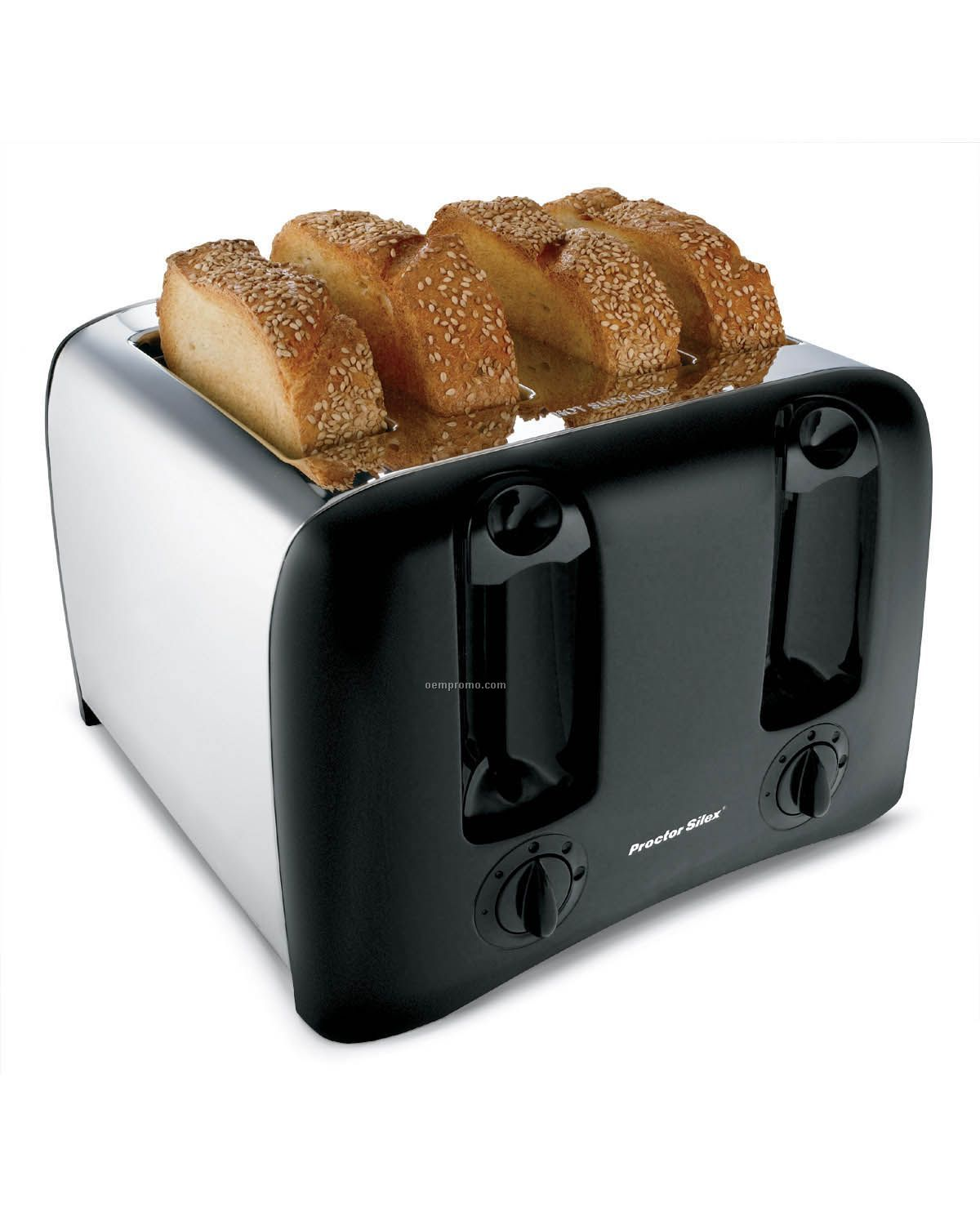 Proctor Silex 4-slice Toaster W/ Cool Wall Sides