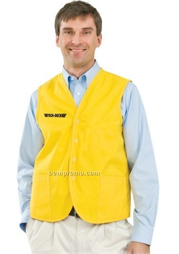 Button Uniform Vest