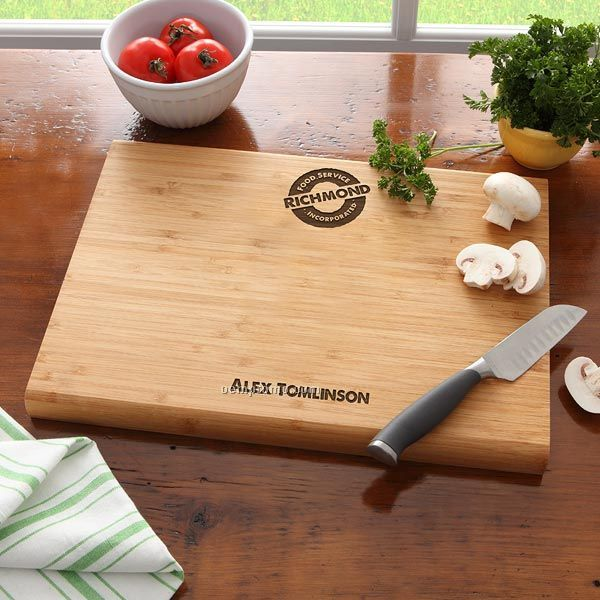 Corporate Bamboo Cutting Board