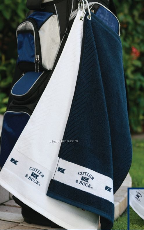 Cutter & Buck Tournament Towel - Embroidered 3 Day Proship